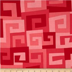 Michael Miller Maze Cherry Fabric