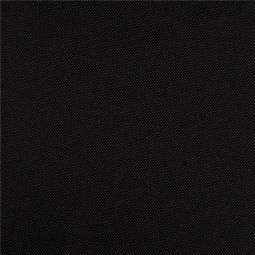 Heavy Duty Nylon Canvas Black Fabric