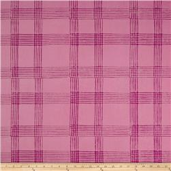 Alison Glass Handcrafted Batiks Chroma Plaid Plum
