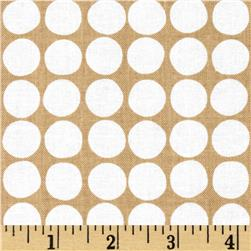 Flourish Dots Taupe