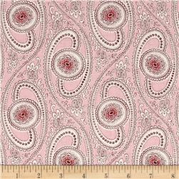 Summer Rose Medallion Swirl Pink