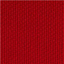 60'' Monks Cloth Red Fabric