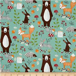 Forest Friends Animals Mint