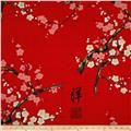 Indochine Golden Garden Metallic Red