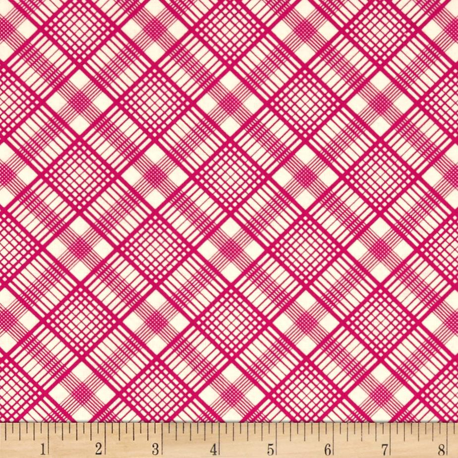 Quartette Collection Plaid Pink