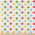 "Riley Blake 108"" Wide Medium Dot Girl"