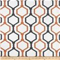 RCA Geometric Sheers Urban Orange/Grey