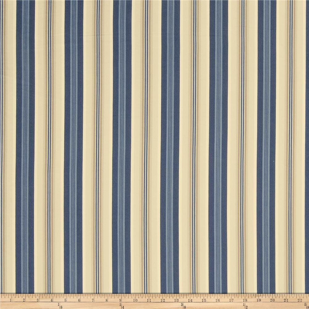 French General Toulouse Sateen Indigo