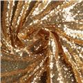 Starlight Sequined Mesh Gold