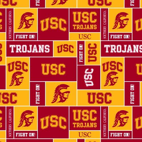 Collegiate Fleece University of Southern California Blocks Red/Gold