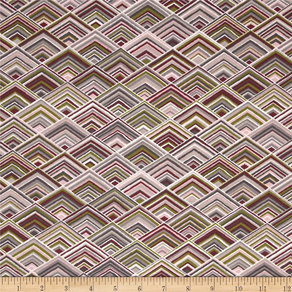 Kaufman Vantage Point Diamond Plaid Taupe