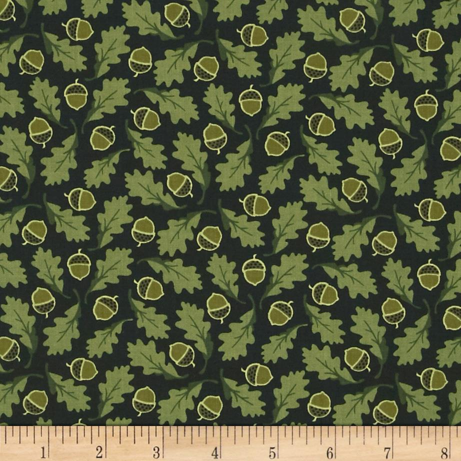 Mountain Majesty Oak Leaf Green