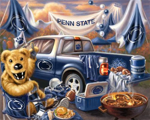 Collegiate Fleece Tailgating Panel Penn State University
