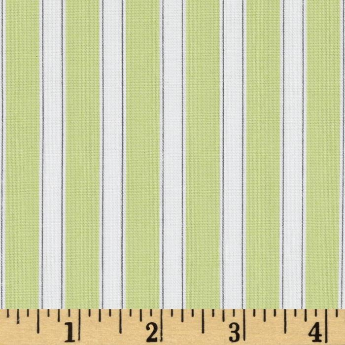 Susy Sunflower Signature Stripe Green