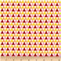 Riley Blake Crayola Triangle Pink
