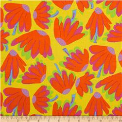 Kaffe Fassett Collective Lazy Daisy Citrus