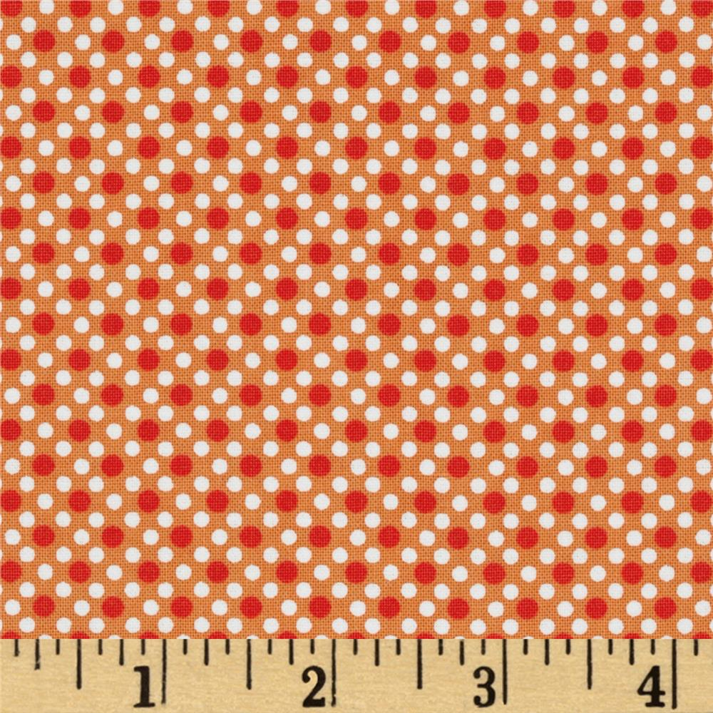 Michael Miller Dim Dots Orange