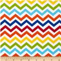 Jamboree Flannel Bright Chevron