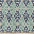 Fabricut Visionary Basketweave Ocean Blue