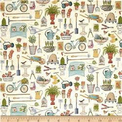Antique Garden Scatter Multi