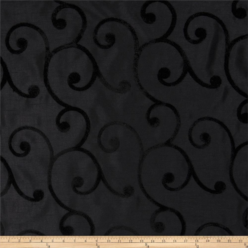 Trend 2437 Faux Silk Black