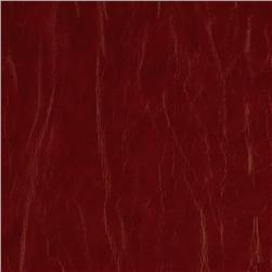 Richloom Faux Leather San Francisco Red