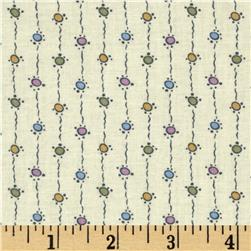 Downton Abbey Lady Sybil String Dots Pastel