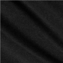 Cotton Poly Jersey Knit Heather Black Fabric