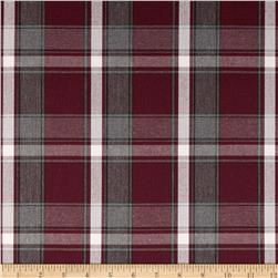 Uniform Plaid Maroon/Grey