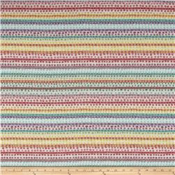 Dotted Stripe Jacquard Multicolor