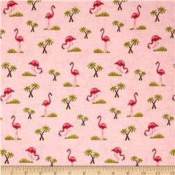 Riley Blake Novelty Flamingo Pink