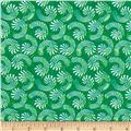 Seasons Greetings Candy Cane Swirls Green
