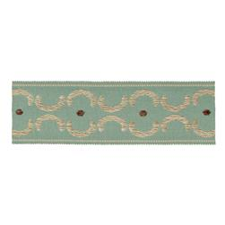 "Jaclyn Smith 1.75"" 01872 Trim Aqua"