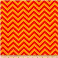 Flannel Chevron Orange