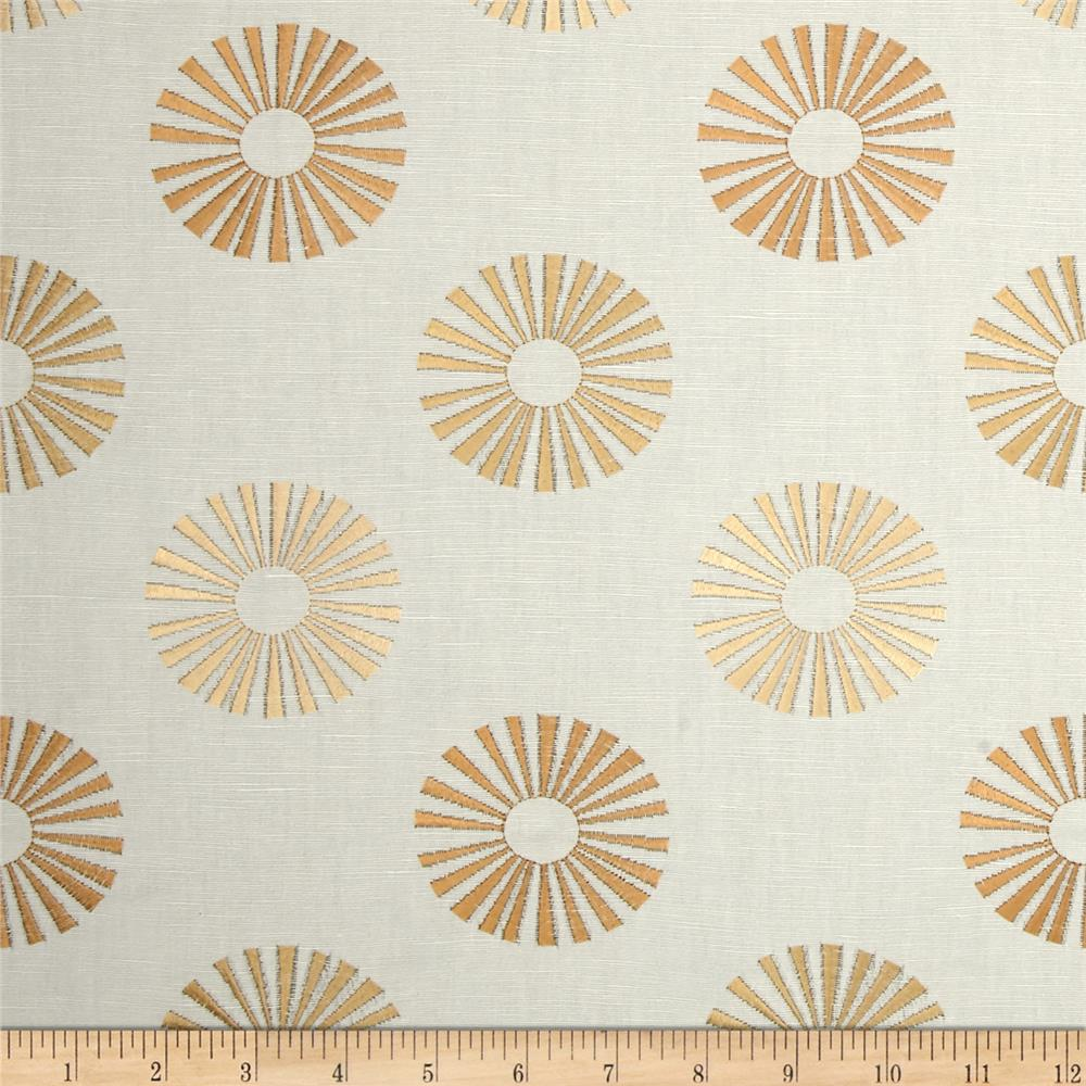 Jaclyn Smith 02619 Embroidered Carthage Cashew