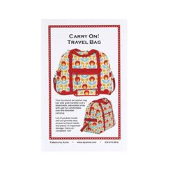 By Annie Carry On Travel Bag Pattern