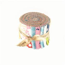 Riley Blake Wildflower Meadow 2.5-Inch Rolie Polie