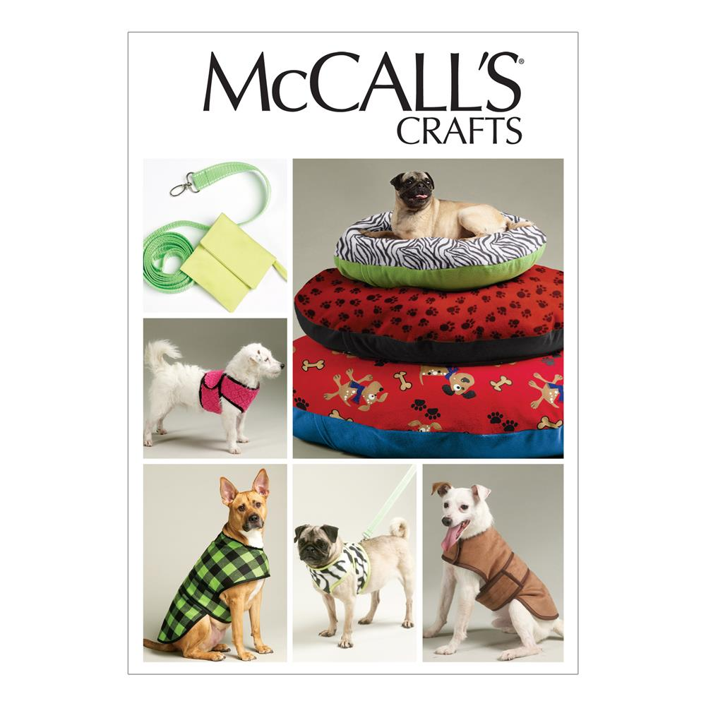 McCall's Dog Bed In 3 Sizes, Leash, Case,