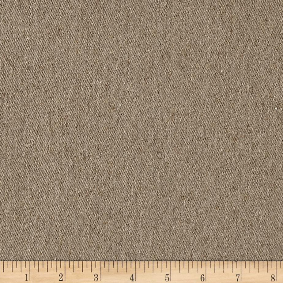 European 100% Linen Tweed Washed Natural Fabric