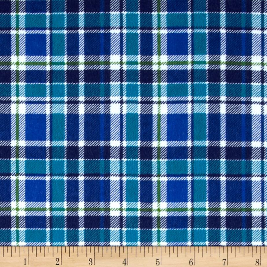 Mad For Plaid Flannel Blue
