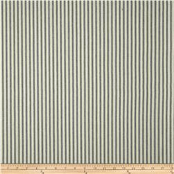 44'' Ticking Stripe Blue/Cream Fabric