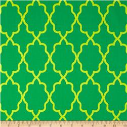 Michael Miller Coco Cabana Moroccan Lattice Grass Fabric