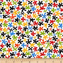 Kanvas Jungle Jive Flower White/Multi