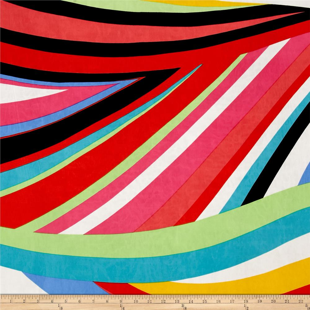 Stretch ITY Knit Stripes Multi