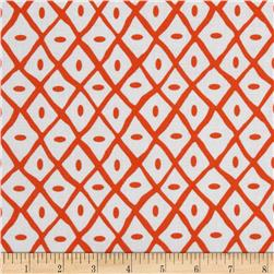Quiltologie Dotted Lattice Orange