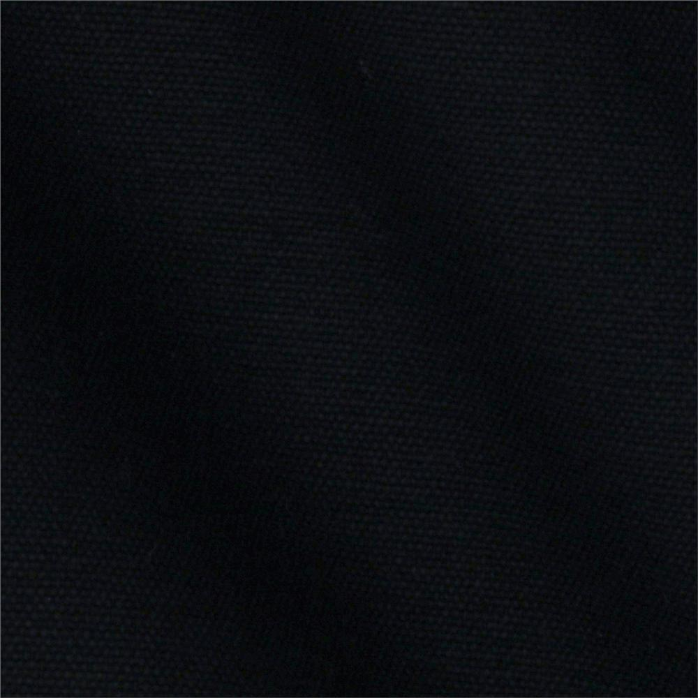 Black cotton canvas for Black fabric