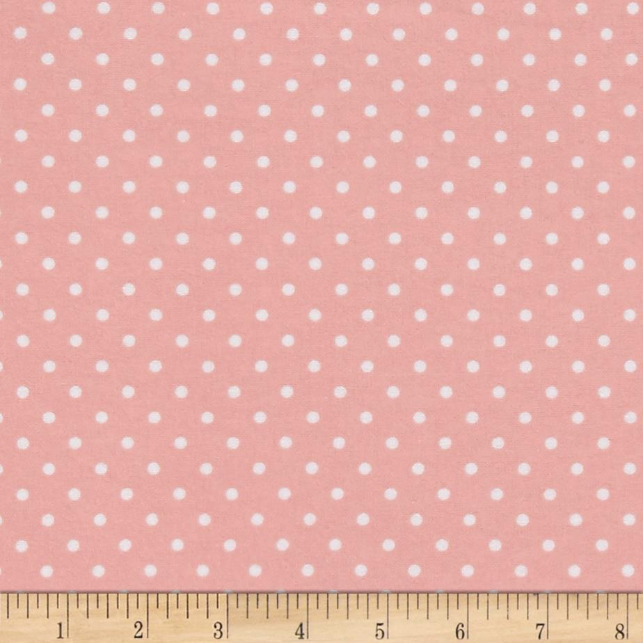 Timeless Treasures Flannel Dot Sweet