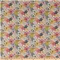 Liberty of London Classic Tana Lawn Wild Flowers Mauvey Cream/Pink