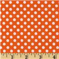 Dotties Orange/White
