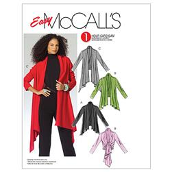 McCall's Misses' Cardigan In 3 Lengths Pattern M5241